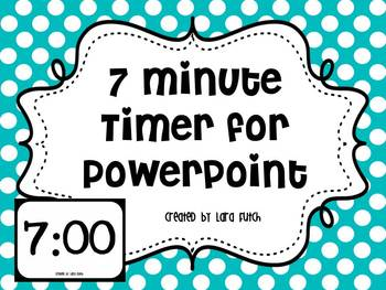 7 Minute Timer for PowerPoint