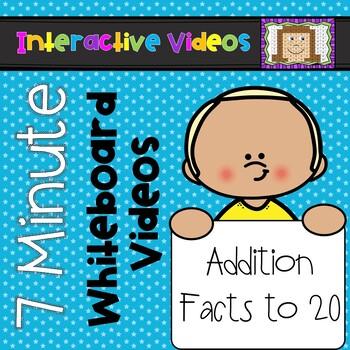 7 Minute Whiteboard Videos - Addition to Twenty