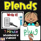 7 Minute Whiteboard Videos - Blends