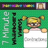 7 Minute Whiteboard Videos - Contractions