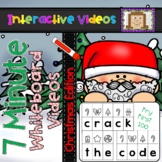 7 Minute Whiteboard Videos - Crack the Code Fry 100 - Christmas