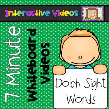7 Minute Whiteboard Videos - Dolch Sight Words