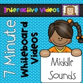 7 Minute Whiteboard Videos - Middle Sounds