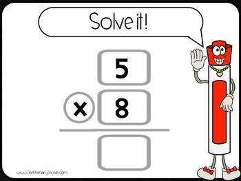 7 Minute Whiteboard Videos - Multiplication Facts