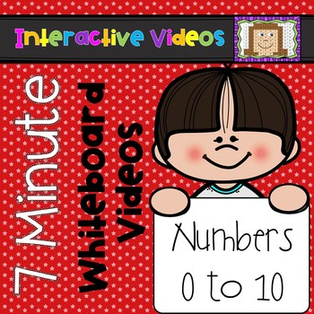 7 Minute Whiteboard Videos - Numbers to 10