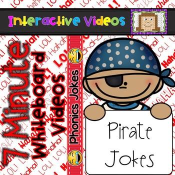 7 Minute Whiteboard Videos - PHONICS JOKES- Pirates