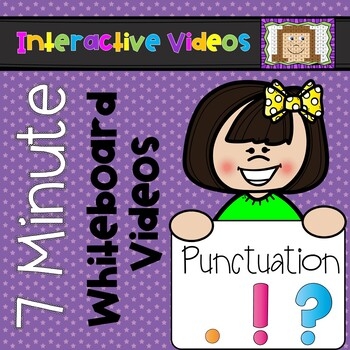 7 Minute Whiteboard Videos - Punctuation