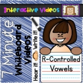 7 Minute Whiteboard Videos - R-Controlled Vowels