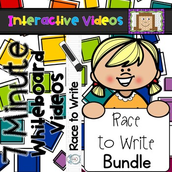 7 Minute Whiteboard Videos - Race to Write Bundle