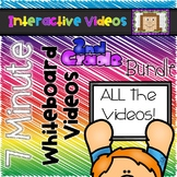 7 Minute Whiteboard Videos - SECOND GRADE Bundle