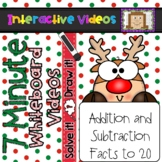 7 Minute Whiteboard Videos - SOLVE IT! DRAW IT! Christmas