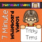 7 Minute Whiteboard Videos - Tricky Teens
