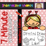 7 Minute Whiteboard Videos - Valentine's Day Directed Draw