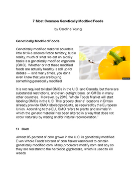 7 Most Genetically Modified Foods