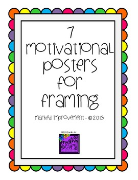 7 Motivational Posters for Students