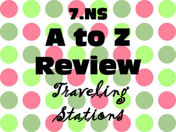 7.NS A to Z Review