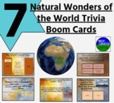 7 Natural Wonders of the World Trivia Boom Cards