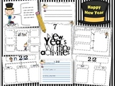 7 New Year's Writing activities