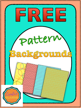 7 Pattern Backgrounds [FREE]