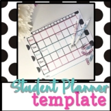 7 Period Planner - for Teachers and Students