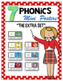 7 Phonics Posters {ch, th, sh, wh, ph, ed, qu) Kindergarten & First Grade