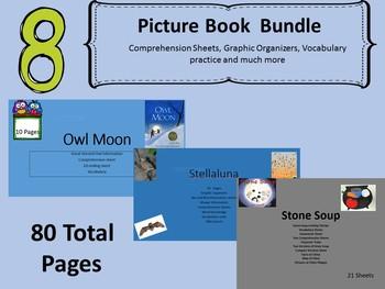 8 Picture Books Units