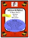 7 Pirate Paul Adventures for Middle School MEGABUNDLE