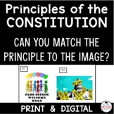 Principles of the Constitution Using Pictures - Match the Principle to the Image