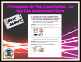 7 Principles of the Constitution, So You Can Understand Them