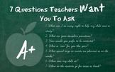 7 Questions Teachers Want You to Ask at Meet the Teacher night