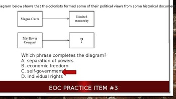 7 Quick and Easy Civics EOC Practice Questions