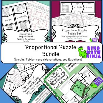 7.RP Proportional Puzzle Bundle
