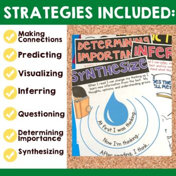 Reading Strategies: Bulletin Board Set