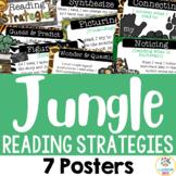 Jungle Safari Theme: Reading Strategy Posters