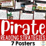 Pirate Theme: Reading Strategy Posters