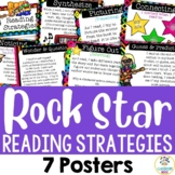 Rock Star Theme: Reading Strategy Posters