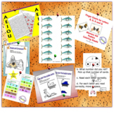 7 Resources of Letter Recognition Games and Color Sheet Bundle