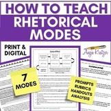 7 Rhetorical Modes (Modes of Discourse)