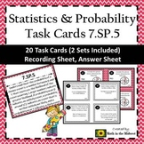 7.SP.5 Task Cards, Probability of a Chance Event