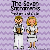 7 Sacraments Posters and Quiz - Seven Sacraments