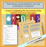 7 Sacraments of the Catholic Church. A project