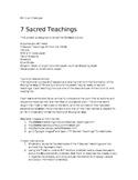 7 Sacred Teachings