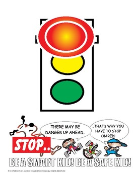 7 Safety Signs for Kids and a Fun Sign for the Teacher