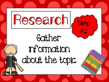 7 Scientific Method Posters and Title Poster