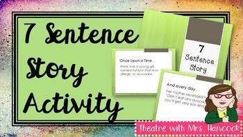 7 Sentence Story Power Point