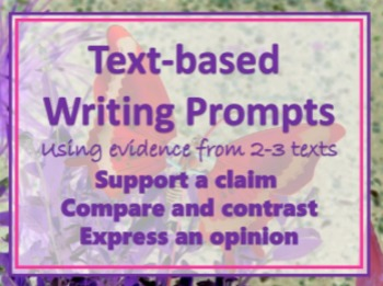 7 Sets Evidence Based Writing Assessments Over Paired Texts