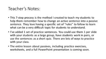 7 Simple Steps to Change Active Voice to Passive Voice