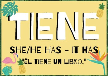 7 Spanish Verbs
