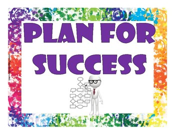 7 Steps for Success Posters