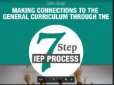 7 Steps of the IEP Proces